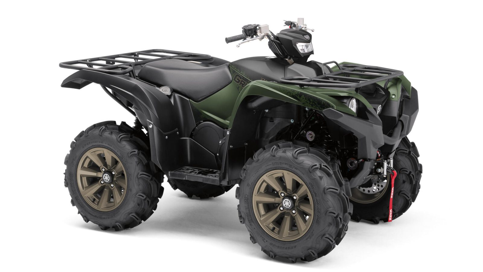 Quad Yamaha-YFM700F Covert_Green