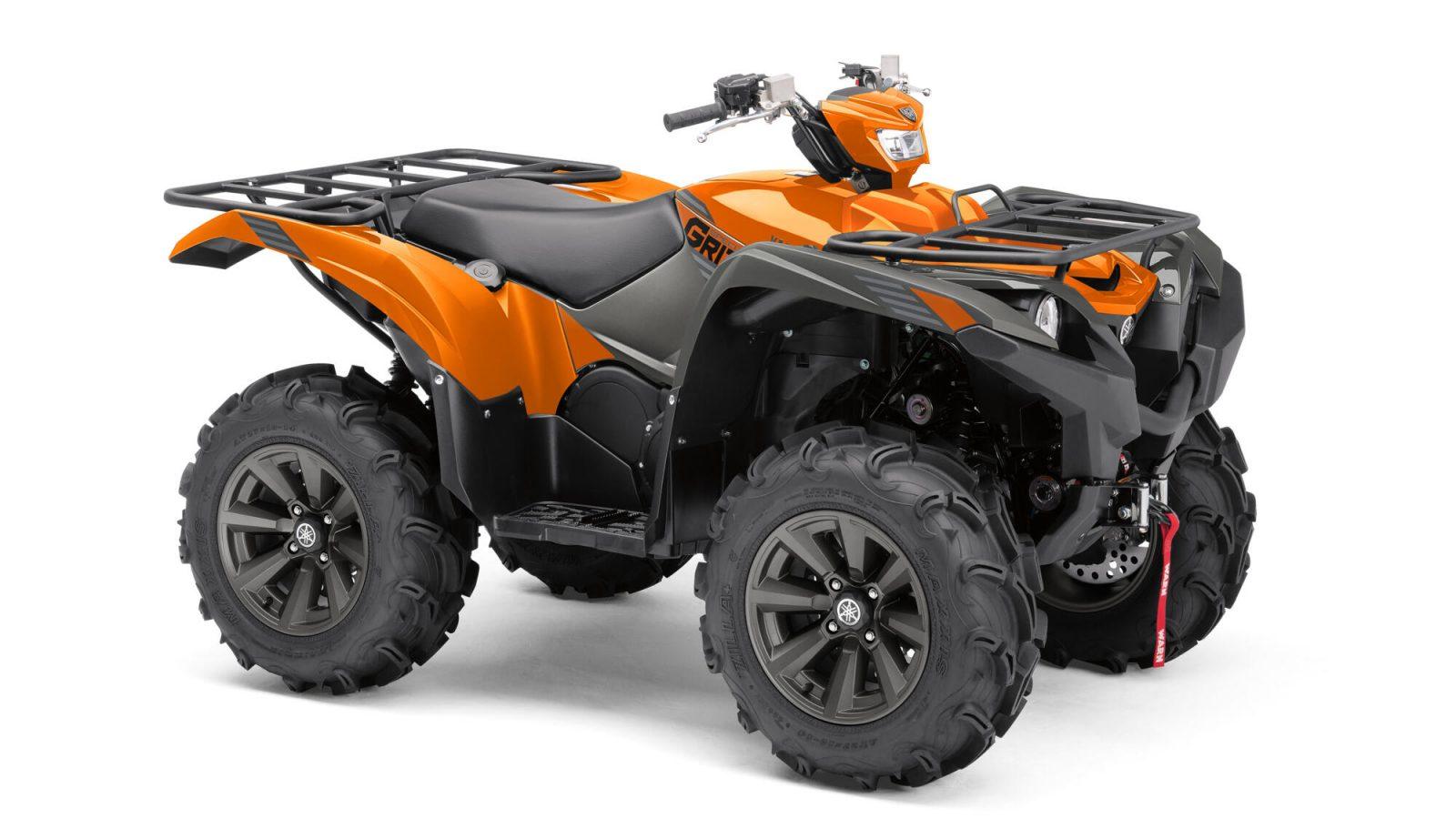 Quad Yamaha-YFM700F_Orange