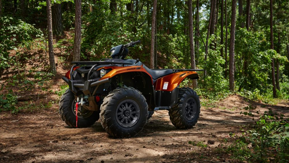 KODIAK YFM700 ORANGE 2