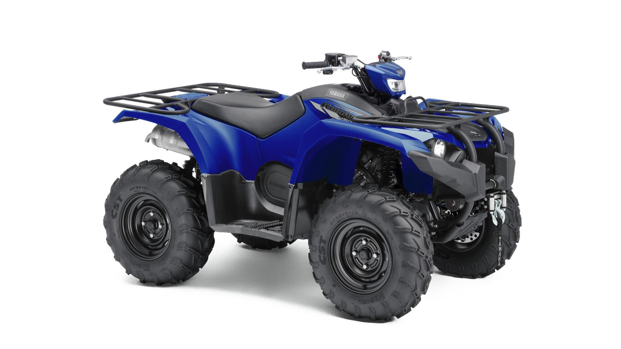 Yamaha Kodiak Bleu 1